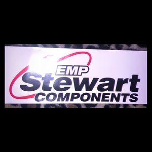 EMP Stuart Components Car Sticker